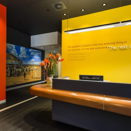 Interior Logistics – SC Johnson Reception